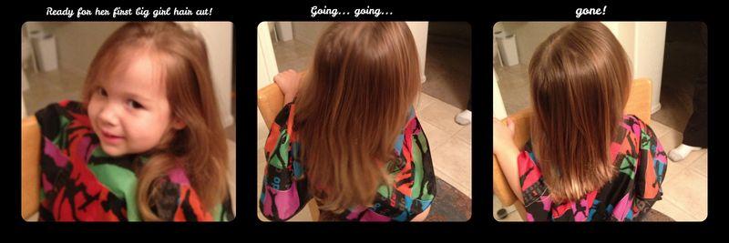 Amelia hair cut